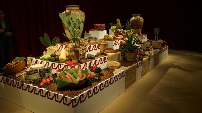 La mesa de Moctezuma en Casa de México en España