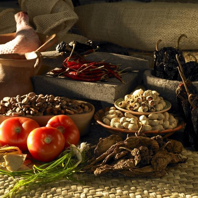 La Mesa de Moctezuma. Los alimentos que Mesoamérica dio al mundo. Casa de México en España.