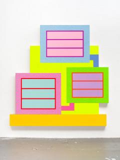 Peter Halley, Spiral, 2020 — Cortesía del artista y la galería Senda