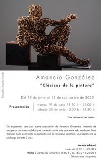 Amancio González. Clásicos de la pintura
