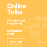 """Online Talks"" - A new series of virtual conversations"
