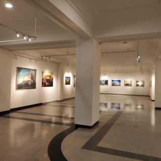 Vista general de la sala de exposiciones