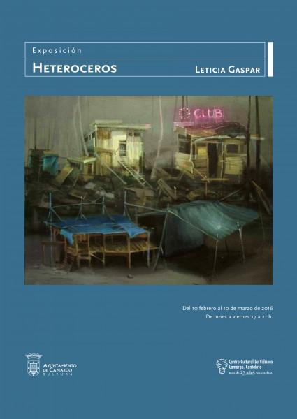 Exposición Leticia Gaspar