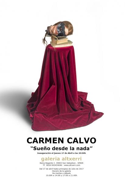 Carmen Calvo. Sueño desde la nada