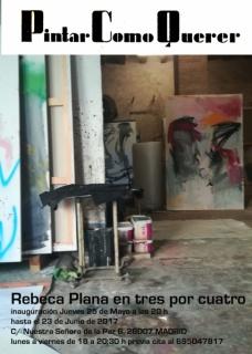 Rebeca Plana. Pintar como querer
