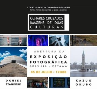 Olhares Cruzados. Imagens de duas culturas. Brasília - Ottawa