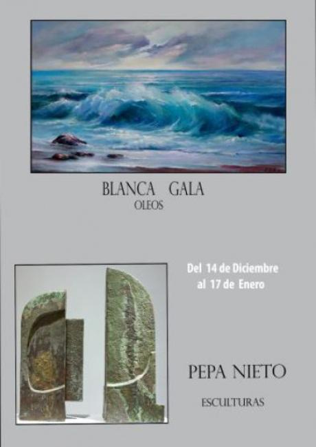 Blanca Gala y Pepa Nieto