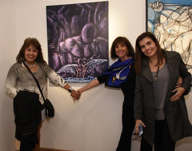 Lélia Acioli e Carla Mourão
