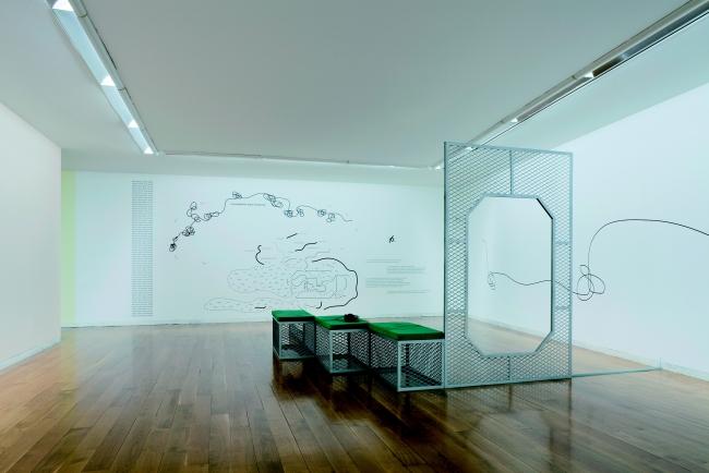5.Ricardo Basbaum. Consjs [La société du spectacle (&NBP)], 2011. Instalación sonora. Colección Fundación ARCO/IFEMA. Fotografía: Mark Ritchie — Cortesía de la Sala Alcalá 31