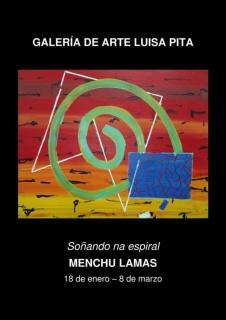 Menchu Lamas. Soñando na espiral