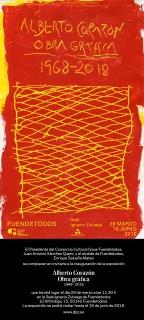 Alberto Corazón. Obra gráfica 1968-2018