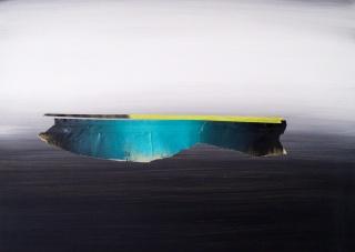 Enrique Larroy. Horizontes basura — Cortesía de la Galería A del Arte