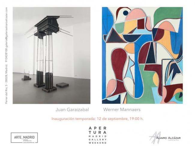 Galería Álvaro Alcázar abre la temporada 2019-2020 con dos exposiciones
