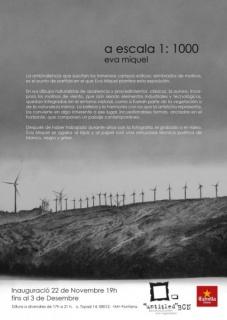 Eva Miquel, a escala 1:1000