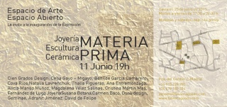 EXPOSICION MATERIA PRIMA COVA RIOS