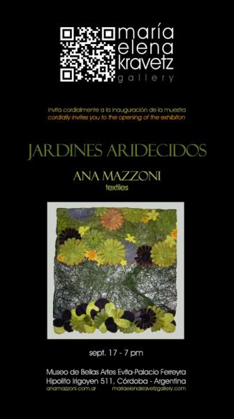 Ana Mazzoni, Jardines aridecidos
