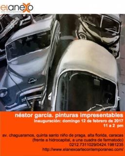 Néstor García. Pinturas Impresentables