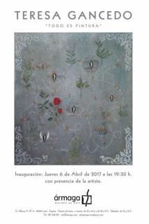 Teresa Gancedo. Todo es pintura