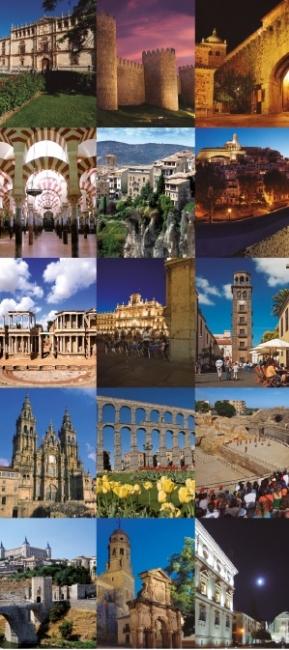 Ciudades Patrimonio de la Humanidad. 15 Joyas de España