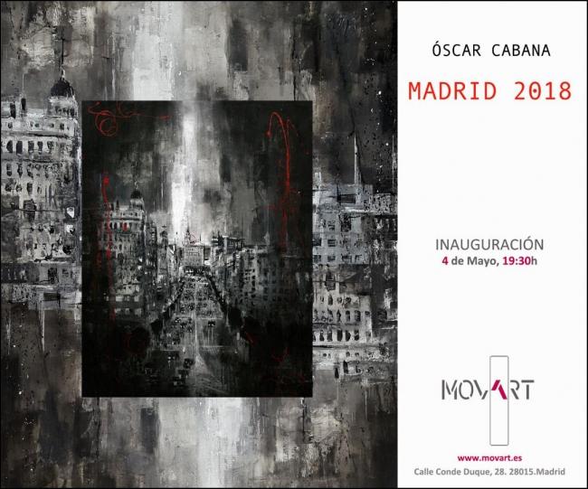Óscar Cabana. Madrid 2018