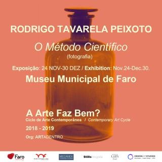 Rodrigo Peixoto, O Método Científico, exposição de fotografia