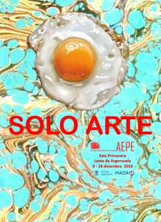 Cartel Solo Arte de la AEPE