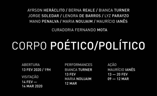 Corpo poético/político