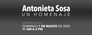 Antonieta Sosa. Un homenaje