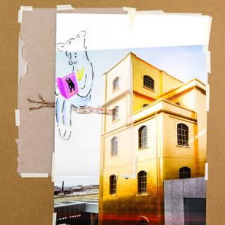 Simon Fujiwara, drawing image for Who the Bær, 2020. Artwork: Simon Fujiwara. Photo: Bas Princen. Courtesy the artist
