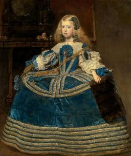 Velázquez, La infanta Margarita, 1651-1673