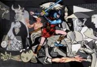 El intruso, 1969. Serie Guernica