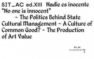 SITAC XIII Nadie es inocente