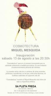 Cartel Miquel Mesquida