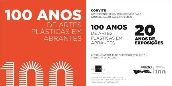 100 anos de artes plásticas em Abrantes
