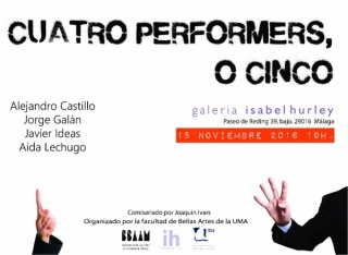 Cuatro performes, o cinco