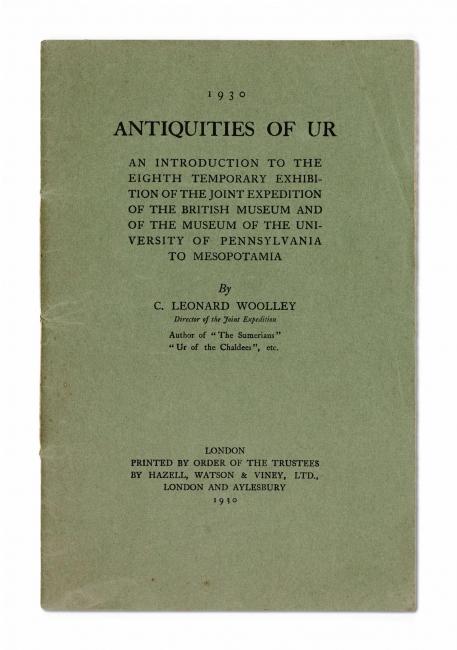 Sumer i el paradigma modern, Antiquities of Ur, Londres, 1930 – Cortesía de la Fundación BBVA
