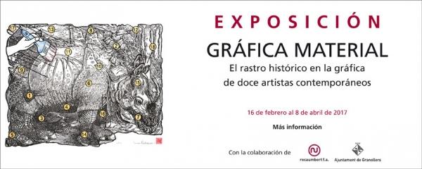 Gráfica material. El rastro histórico en la gráfica de doce artistas contemporáneos