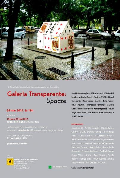 """Galeria Transparente: Update"""