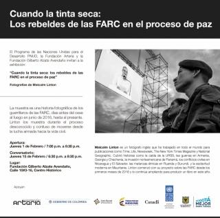 CUANDO LA TINTA SECA: LOS REBELDES DE LAS FARC EN EL PROCESO DE PAZ
