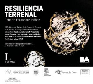 Resiliencia Terrenal. Imagen cortesía museo larreta
