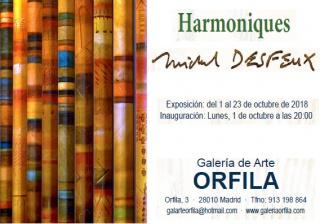 Michel Desfeux. Harmoniques