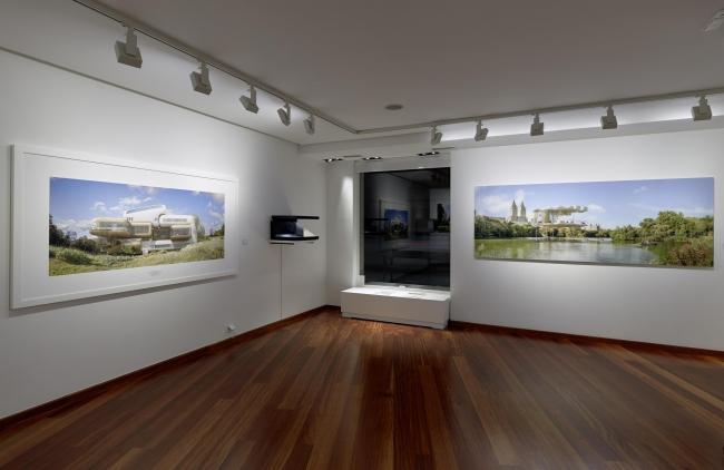 Exposición Dionisio González en Aurora Vigil-Escalera Galería de Arte