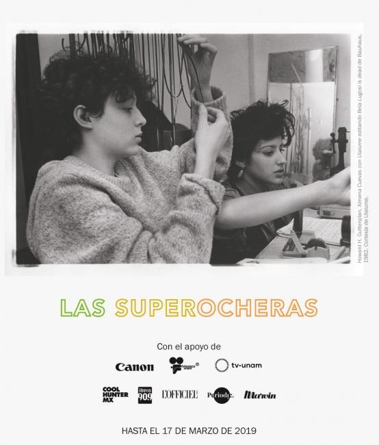Las superocheras. Imagen cortesía Museo Universitario del Chopo