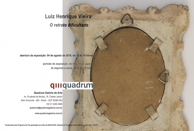 Luiz Henrique Vieira. O retrato dificultado