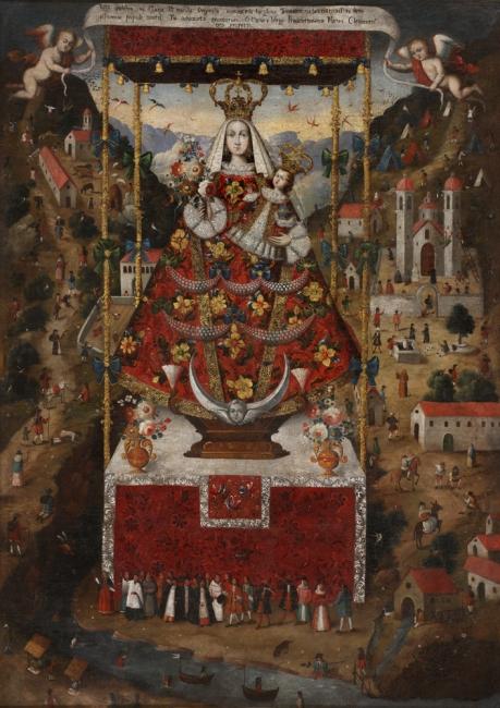 Anónimo (Perú) Nuestra Señora de Cocharcas, ca. 1750. Cortesía de RABASF