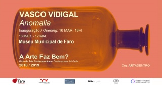 exposição de pintura de Vasco Vidigal