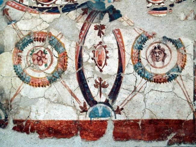 La pintura romana en Hispania — Cortesía del Museo Teatro Romano de Cartagena