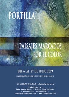 José Portilla. Marcado por el color