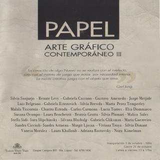 Arte Gráfica Contemporánea III