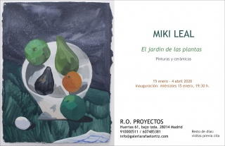 Miki Leal. El jardín de las plantas